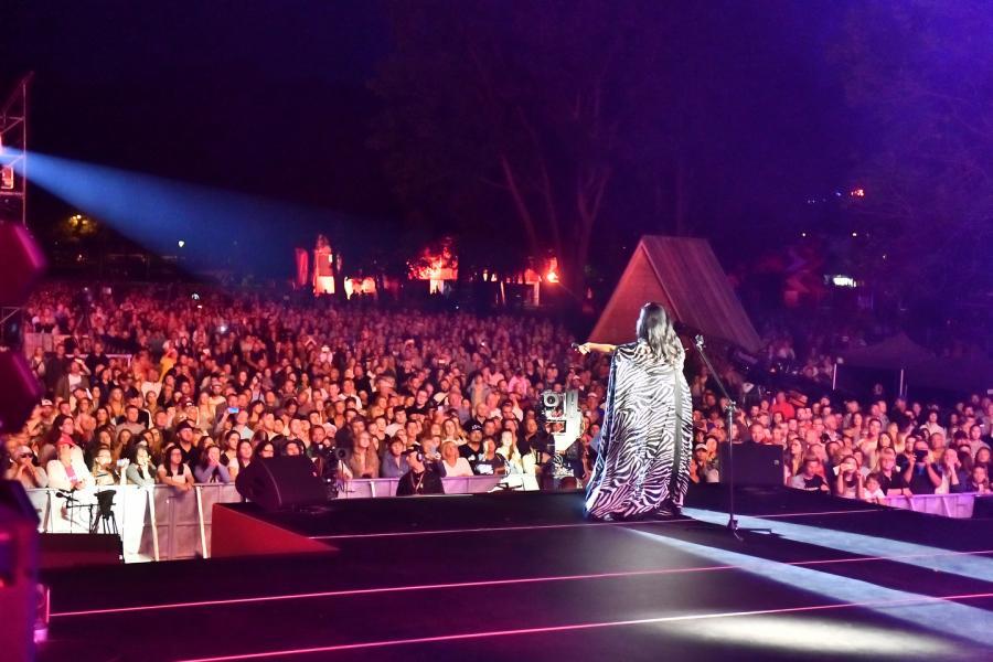 Kayah Scena Główna (Dolna Rówień Krupowa) Lato z Radiem Festiwal 2019 Zakopane