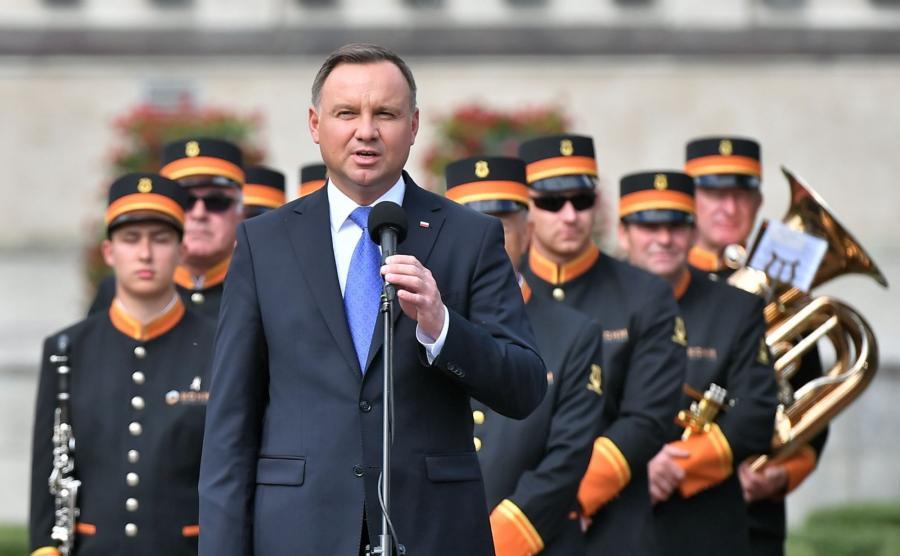 Andrzej Duda w Głogowie