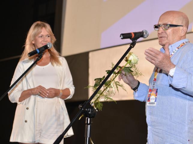 Grażyna Torbicka i Wojciech Pszoniak
