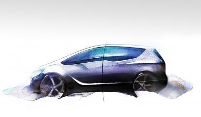 Meriva Concept - nowa wizja Opla