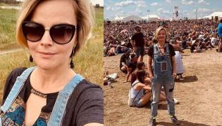 Monika Zamachowska na festiwalu Pol'and'Rock