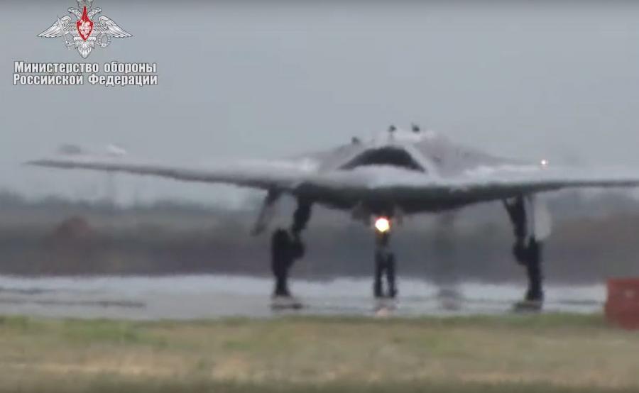Rosyjski dron bojowy