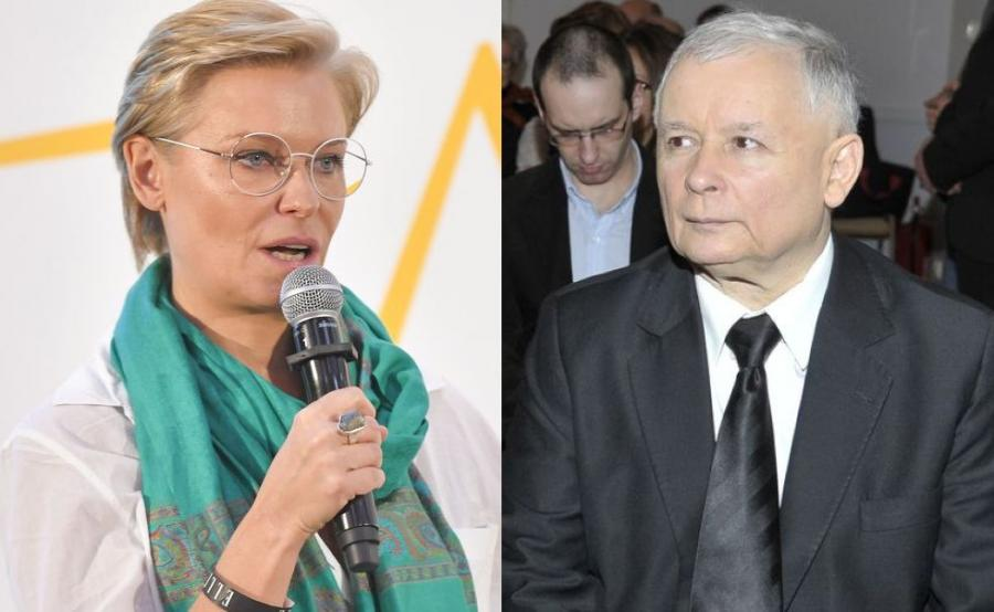 Paulina Młynarska, Jarosław Kaczyński