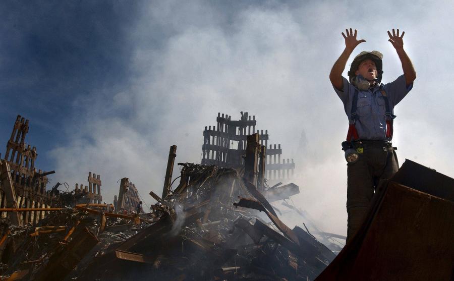 Ruiny wież WTC