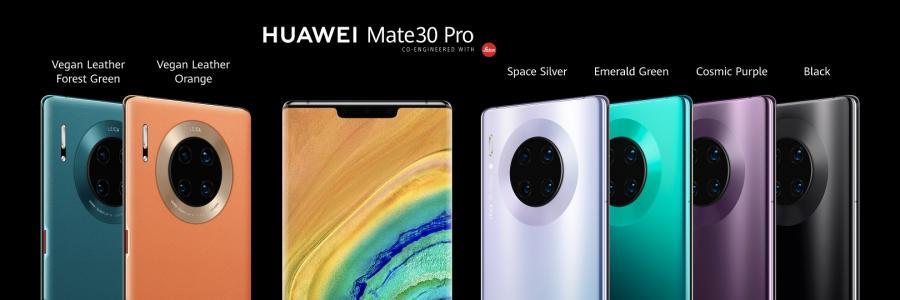 Wygląd serii Mate 30 Pro