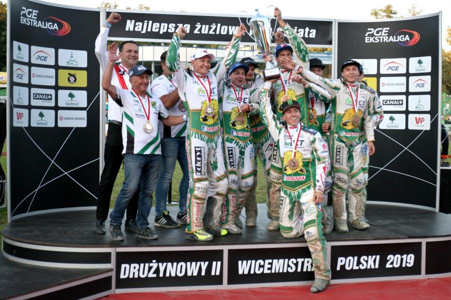 Żużlowcy forBET Włókniarza Częstochowa na podium drużynowych mistrzostw Polski