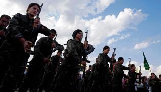 Kurdyjskie oddziały YPG