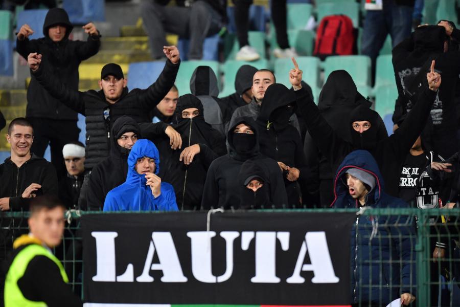 Rasitowski skandal podczas meczu w Sofii