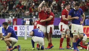 Mecz w rugby Walia-Francja