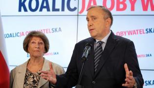 Grzegorz Schetyna, Barbara Borys-Damięcka