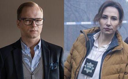 Maciej Stuhr i Magdalena Popławska w serialu \