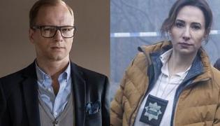 "Maciej Stuhr i Magdalena Popławska w serialu ""Szadź"""