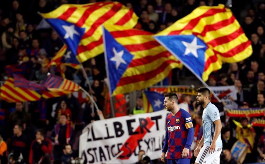 Mecz w Barcelonie