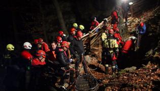 Akcja ratownicza w Jaskini Wszystkich Świętych