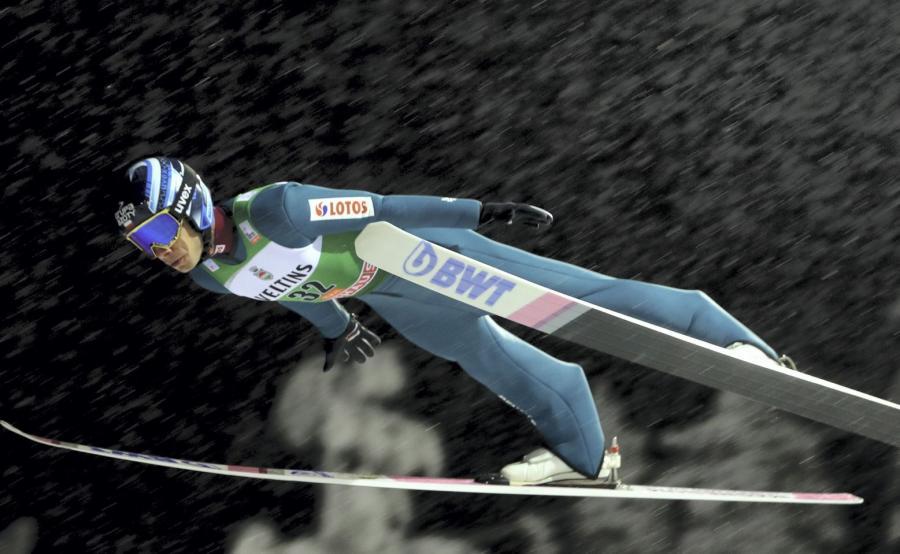 Jakub Wolny, najlepszy z Polaków w piątkowych kwalifikacjach