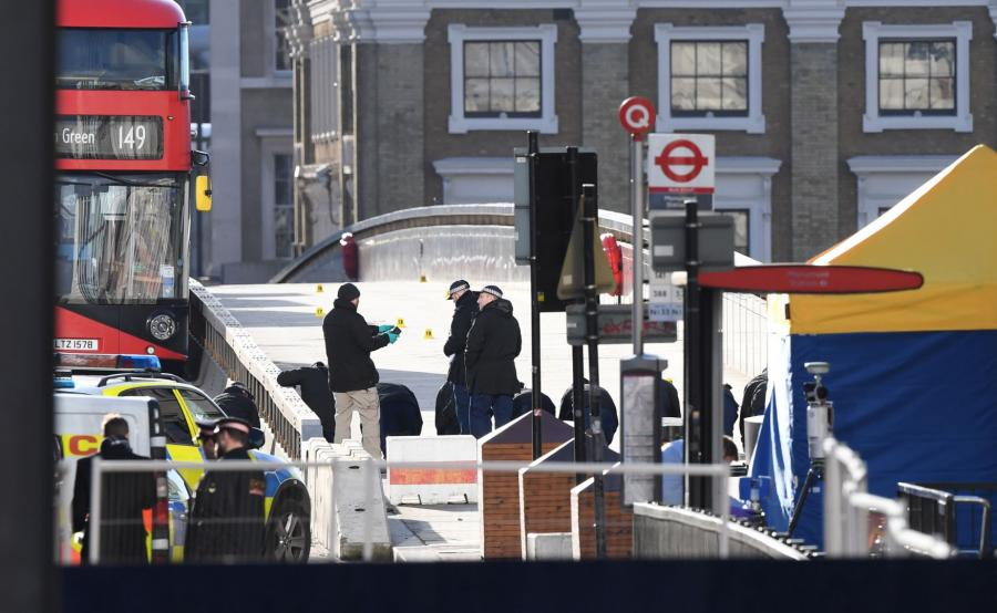 Miejsce ataku na London Bridge