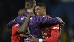 Marcus Rashford i David de Gea