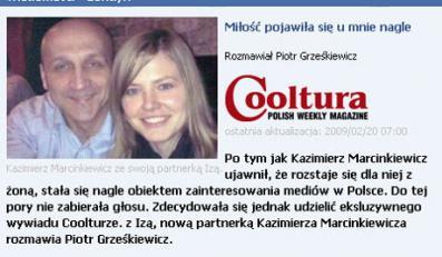 Kochanka Marcinkiewicza przemówiła