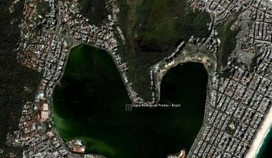 Jezioro w Brazylii