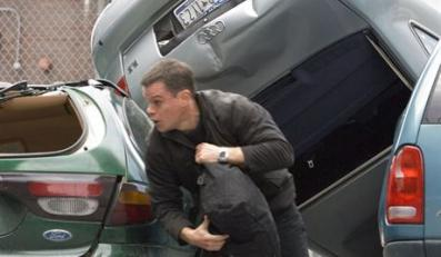 "MATT DAMON is Jason Bourne in the espionage thriller that takes Bourne back home: ""The Bourne Ultimatum"". Ultimatum Bourne'a Foto: UIP"