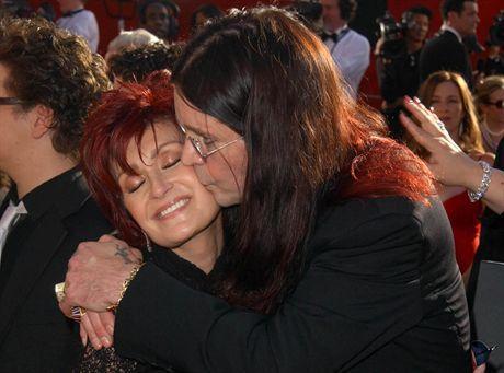 Ozzy Osbourne z żoną