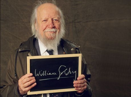 Sir William Golding, Nobel prize in literature, 1983, Great Britain.FOT. EYEDEA / BE&W *** Local Caption *** 12/00/1991. 90th anniv. Jubilee of the Nobel prizes.