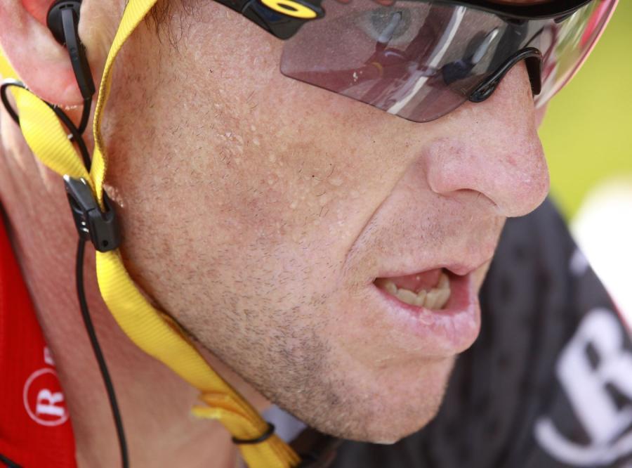 Armstrong: Straciłem szanse w Tour de France