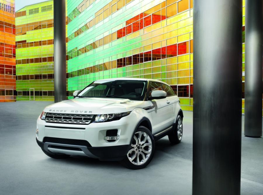 Pierwsze modele Range Rover Evoque zostały już wyprodukowane