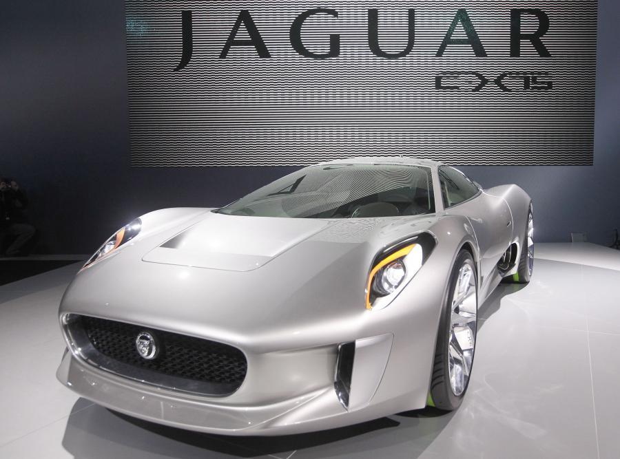 Elektryczny model Jaguara - CX75
