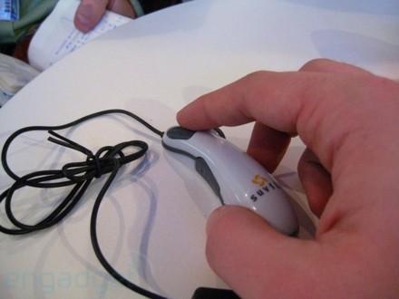 Wychudzona mysz z Hiszpanii - CeBIT \'08