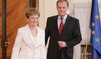 Donald Tusk jest bardziej zadowolony z pracy kobiet w rządzie niż z pracy mężczyzn