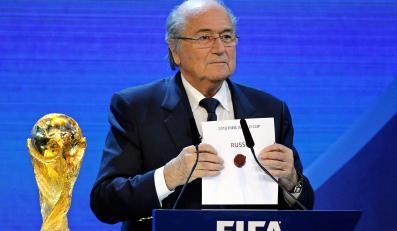 Szef FIFA do homoseksutów: Powstrzymajcie się od aktywności seksualnej