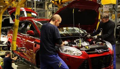 Zakład Forda w Saarlouis w południowo-zachodniej części Niemiec świętuje oficjalny początek produkcji focusa nowej generacji