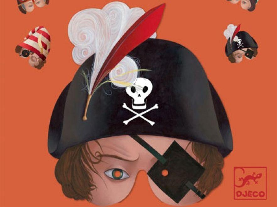 Maska dzielnego pirata i zdobywcy