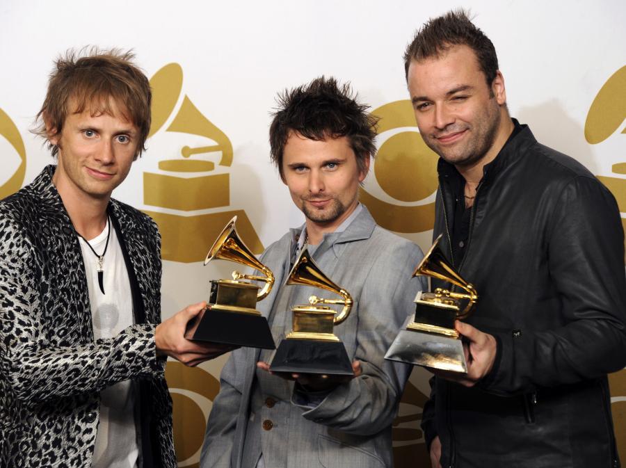Zdobywcy pewnych Grammy – Muse
