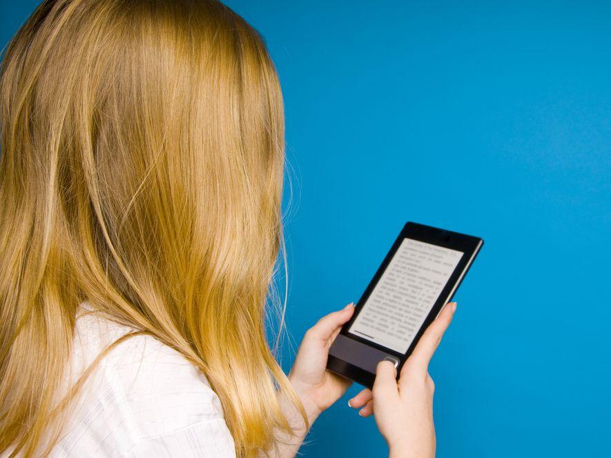 Czytnik e-book, zdjęcie ilustracyjne