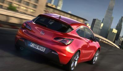 Opel Astra GTC w wersji produkcyjnej