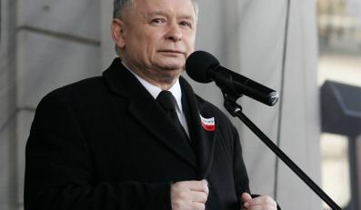 Kaczyński gani rząd Tuska za stosunki z Litwą