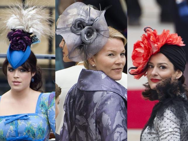 Szalone kapelusze na ślubie Williama i Kate