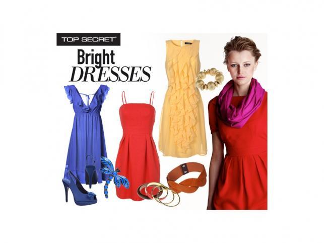 Kobiecości nigdy dość - modne sukienki na lato 2011 z kolekcji Top Secret