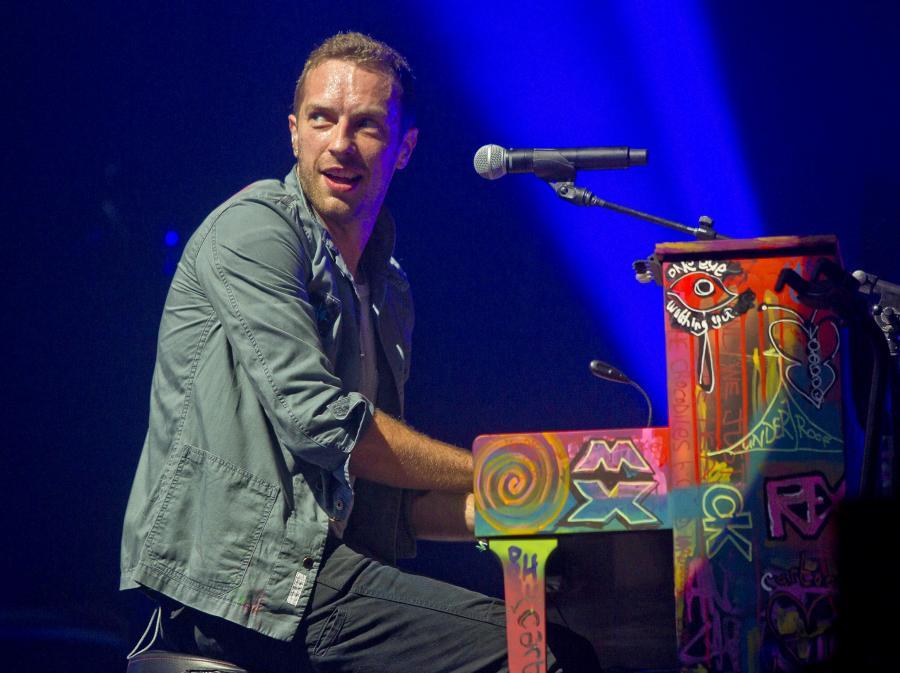 Coldplay roni łzy