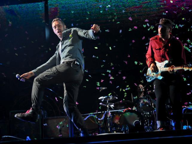 Coldplay w Gdyni na Open'erze 2011