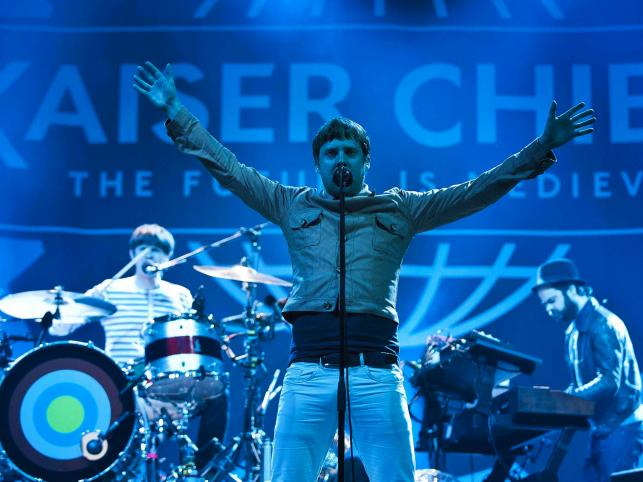 Kaiser Chiefs na Bilbao BBK Live Festival 2011, Hiszpania