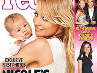 Na konto Nicole Richie wpłynął okrągły milion dolarów za pokaznie światu  córeczki Joel Maden