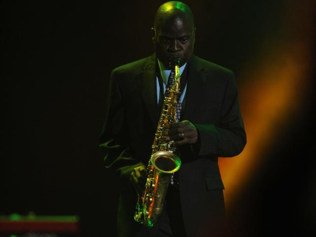 Amerykański saksofonista soulowy i jazzowy Maceo Parker
