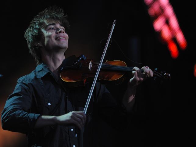 Norweski piosenkarz, skrzypek i kompozytor Alexander Rybak,