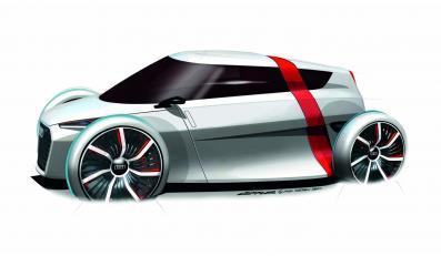 Audi urban concept to dwuosobowy i lekki jak piórko pojazd