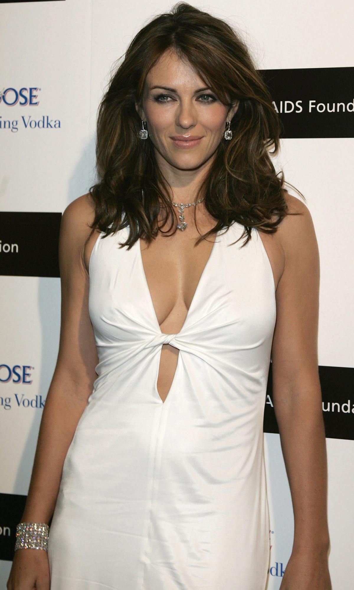 Brytyjska aktorka Elizabeth Hurley