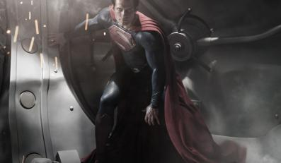 """Henry Cavill jako Superman w """"Man of Steel"""""""