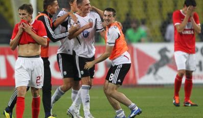 Legia Warszawa pokonała Spartak i jest w Lidze Europejskiej
